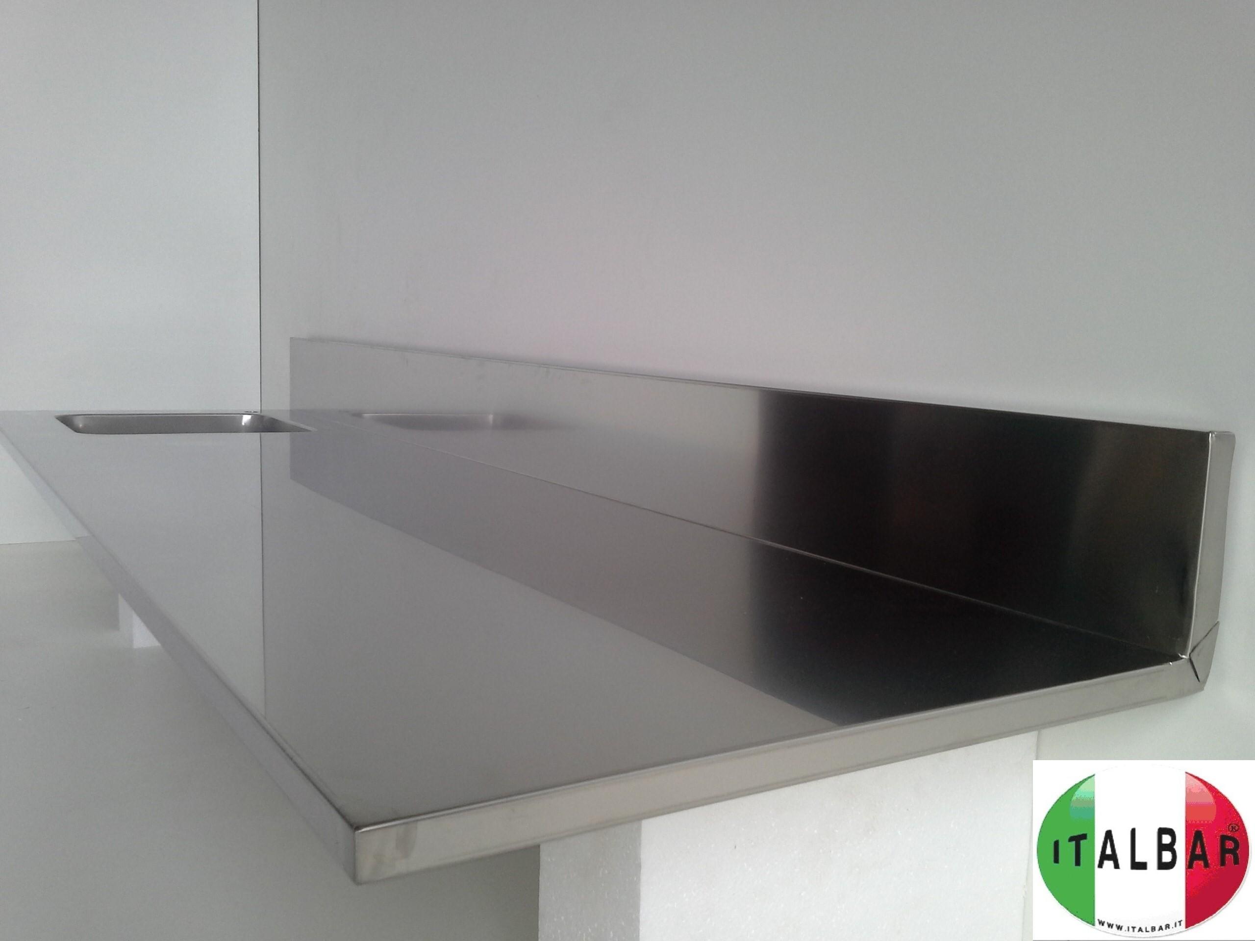Banchi frigo banchi bar banconi bar produttori di - Piani in acciaio per cucine ...